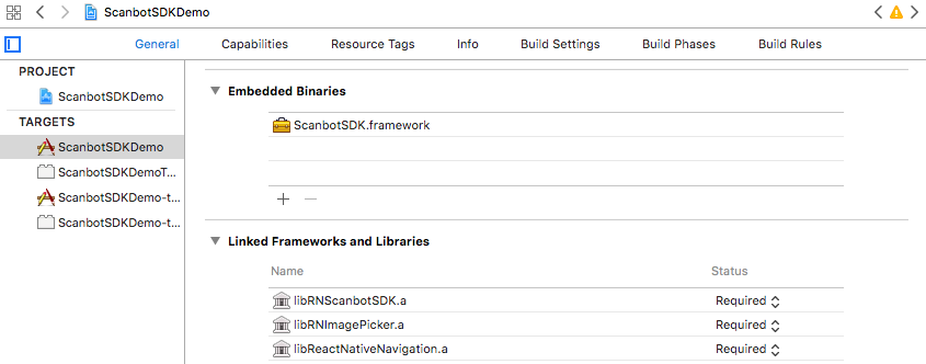 Scanbot SDK React Native Module